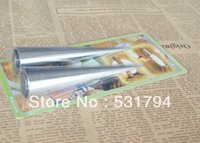 aluminum in oven - 2piece tapered aluminum tube roll Croissant Danish baking cake mold bakeware tool use in the oven