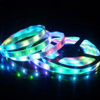 Wholesale DC12V V SMD5050 LEDS W M LED Flexible Strip light IP33 IP65 Waterproof Led Strip Light M Roll