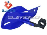 Cheap ZJMOTO New Motocross Hand Guards Uniko Blue Plastic Handguards For Yamaha Yz Wr TTr 80 85 125 230 250 450 490 Free Shipping