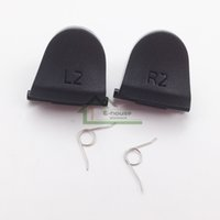 Wholesale L2 R2 Trigger Buttons Replacement with Springs For Playstation For PS4 Controller Dualshock L2 L2 Key Button