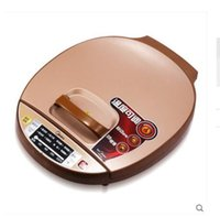 Wholesale Waffle Makers Double heating quality goods on pancake machine A key touch lock hydrosphere Suspended double side heating Honey