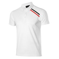 Wholesale Outdoor Golf T Shirts New Summer High Quality Men Short Sleeve Golf Polo T Shirts Quick Dry Classical Brand Breathable Golf Shirts
