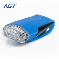 Wholesale 1 item Top quality NGT new light LED light bike and bicycle lights Cycling Light Safety Lamp Flashlight