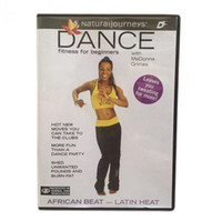 Wholesale 100pcs New Version dance workout DVD trainning Fitness Video Fitness for beginners workout dvd videos DVD