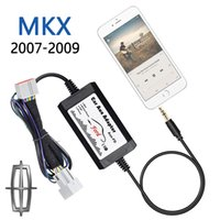 Wholesale 2007 LINCOLN MKX iPod iPhone mm Auxiliary Input Adapter Car Audio Mp3 Player interface digital cd changer