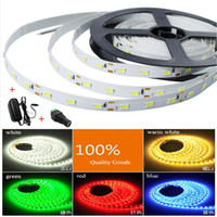 flat led rope light - Led strip light SMD M led DC12V flexible stripe rope lights not waterproof with power supply EU US indoor decorate