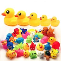 baby duck called - kids Rubber water toys toddler baby bath swimming toys yellow ducks Animal BB call sound dolls kids gift