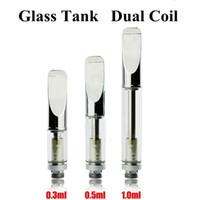 Wholesale Pyrex glass tube CE3 atomizer BUD Touch O pen CBD hemp vaporizer e cigarette vape mods e cig Oil Cartridge tank AT069