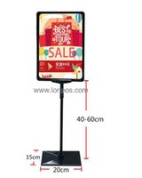 advertisement billboard - A4 label frame top grade price ticket advertisement playbill Display poster banner frame holder stand with frame