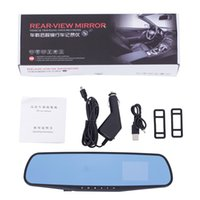 Wholesale 2 Inch Android Car DVR with P Dual Camera Auto Electronics Rearview Mirror Car DV