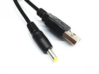 Wholesale High Quality USB to DC Power Cable CM FT USB Charger Cable to DC mm For PC Phone PSP