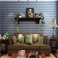 art stone tile - Brand New Modern Design D Effect Natural Embossed Stone Brick Tile Vinyl Wall Sticker Wallpaper TV Mural DIY Art Home Decor