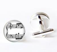 Wholesale SALE cufflinks Music inspiration Cuff Links musician cuff links wedding cufflinks