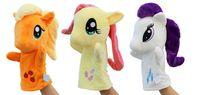 Wholesale dolls Kids toys unicorn puppet show finger puppets stuffed plush toys for animals peppa plush horse ittlest pet shop27cm