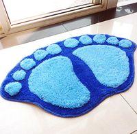 bamboo sofa table - Living room bedroom sofa coffee table carpet mattress pad bath bathroom cute big feet mat