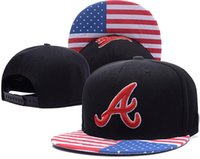 Nueva Bravos de Atlanta forma los sombreros de calidad superior del casquillo de la marca sombreros frescos mejores adulto sombreros baratos lh