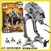 animate gift - Bela New Star Wars AT DP Building Blocks Toys Gift Minifigures Rebels animated TV series Compatible With Legoe