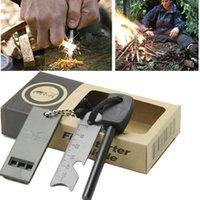 bear grylls fire starter - The same style with Man vs Wild Bear Grylls Magnesium Stone Lighter Flint Fire Starter Kit Outdoor Survival