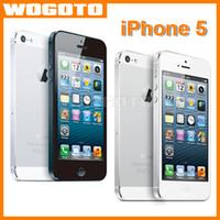 Wholesale Original Refurbished Apple iPhone Unlocked Cell Phone GB Ram GB Rom Dual Core i phone5 Smartphone support G GPS