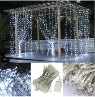 ac freeze - UPDATE VERSION ft LED Weatherproof Freeze proof Outdoor String Light Curtain Light for Christmas Xmas Wedding Party Home Decoratio