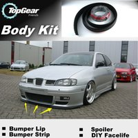 Wholesale The Stig Recommend Body Kit For SEAT Cordoba Front Skirt Deflector Spoiler For Car Tuning Bumper Lip Lips Strip