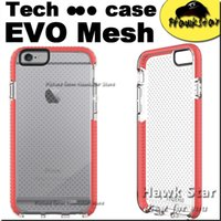 Wholesale For Iphone case TECH EVO Mesh Sport For iphone7 s Plus s se TPU Top quality cover Soft D30 colorful Drop Protective