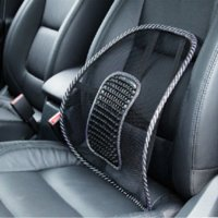 Wholesale Mesh Lumbar Back Brace Support Office Home Car Seat Chair Cushion Cool Car Back Cushion New ME3L