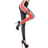 ankle mass - New Sexy Girl leggins Black Red RPG mass effect N7 Printed Polyester Elastic Fitness Workout Women Sport Leggings Yoga Pants