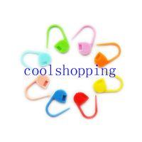 Wholesale 10000pcs Plastic Knitting Weave Knitting Crochet Small Pin Retaining Clips on Sale