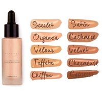 minerals - 2016 Unique Touch Mineral Liquid Foundation Professional Makeup Foundation Waterproof Face Concealer Liquid Colors