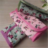 Wholesale 1Pc high quality beautiful printcloth storage bag use for holding a set of crochet hooks other similar tools