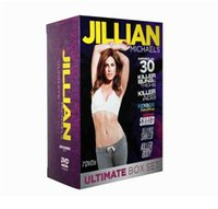 Wholesale 2016 New arrival JIllian Michaels ULTIMATE BOX SET DVDS Workout Fitness DVD Us Version Brand New
