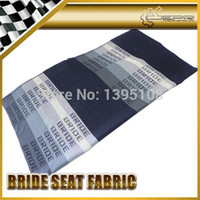 Wholesale Car Styling Universal Fit For Any Drift Rally Racing Graduation Black Color Bride Seat Fabric Cover M X M GTS GTR RX7