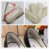 Wholesale Shoes Back High Heels Leather Cushion Pad Protector Insoles Liner tacones Foot Care