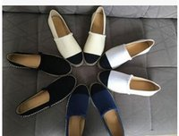 best ballet flats - 2016 luxury brand elegant loafers Best Quality Fashion Hemp Rope Thick Soles Women Flats Espadrilles Loafers Shoes Soft Genuine Leather plu