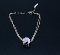 Wholesale France LES New Enamel Crystal Crip Swallow Women s Bracelet Bracelet Bangles Simple Elegant All match Party Bracelet Brand Jewelry