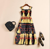 Cheap Runway Dresses dress Best Flora Printed Dresses Spring Women's clothing