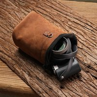 bag filter tank - Mr Stone New Color Camera Accept Package Leather Sheath Inner Tank Package Camera Package Protect Sheath Genuine Leather Package