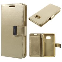 Cheap S6 Edge S7 Mercury Best Mercury Rich Diary Wallet