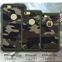 apple desert - 2016 For Apple iPhone S Camo Camouflage Case Shockproof in1 Hybrid Heavy Duty Urban Desert Woodland Camouflage Defender Armor Hard Case