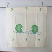 Wholesale cm x180 cm cm with shade head the spring and autumn period and the fourth frog printing bathroom shower curtain