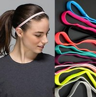 Wholesale Unisex Fashion Elastic Sports Non slip Yoga Football Headscarf Hairband Headband