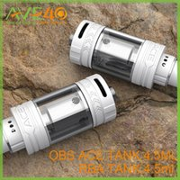ace ceramic - Authenic OBS ACE RBA Atomizer Tank ml with top filling Ceramic coil vape SS Glass Patented Top Side Fill VS OBS Crius subtank plus