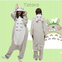 animal costumes fancy dress - Hot Animal Totoro Onesie Kigurumi Fancy Dress Cosplay Costume Pajamas Sleepwear Size S M L XL