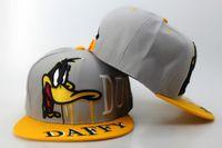 balls bunny - 2016 Hot Sale Grey Yellow Cartoon Bugs Bunny DAFFY Comics Snapbacks adjustable Men Snap back Hats Women Snapback Caps WT