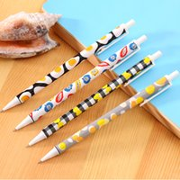 automatic writing - New mm Cute Kawaii fruit pattern Plastic Mechanical pencil Lovely Automatic Pen for Writing Drawing