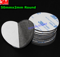 auto decorative tape - mm Round M A Black Double Sided EVA Foam Tape Pad Mounting Tape Auto Car Decorative Article Wall Pendant Home Use