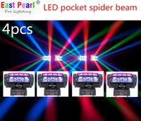 auto zone led lights - EPL CREE colors led mini pocket spider beam moving head effect light sweeping zone dj shows nightclubs mobile stage ktv party dmx