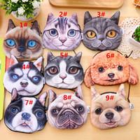 best meow - 2016 New Arrive D cat cathead purse meow star people coin key bag cats cartoon handbag wallets holders best gift