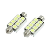 Wholesale Pack MYLB x mm Canbus No Error White SMD LED Festoon Lamp w Heat Sink